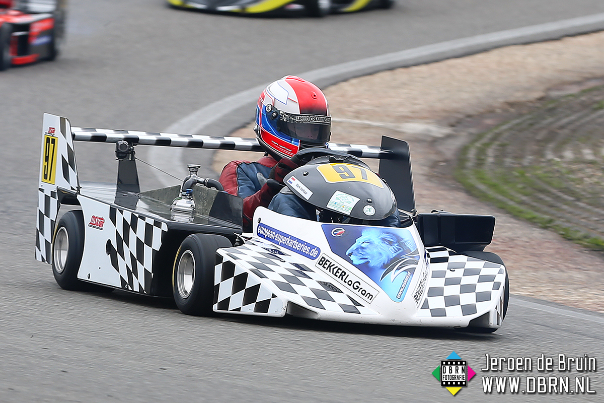 European Superkart Series Pinksterraces Circuit Park Zandvoort
